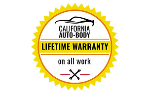 Cal Auto Body Tracy Lifetime Warranty