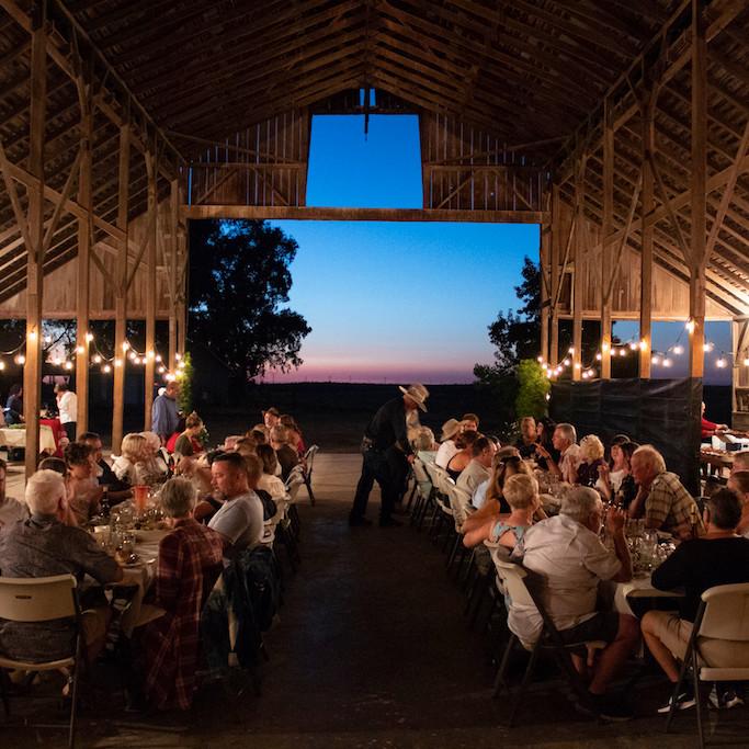 Annual Farm to Table Dinner August 28, 2021