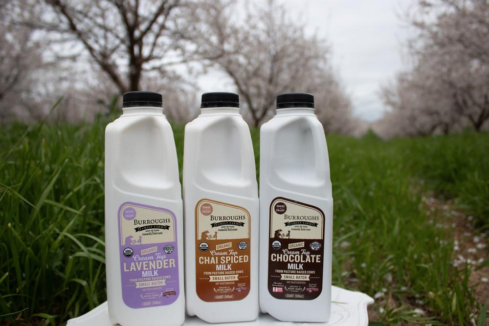 Burroughs Family Farms Flavored Milks