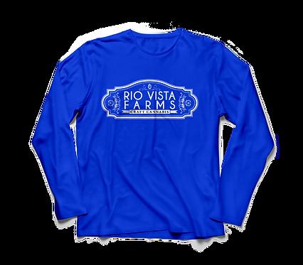Sundae Driver Blue Long Sleeve Shirt