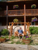 Inn at the Lake Patio Swing