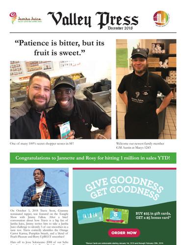 Valley Press December 2018