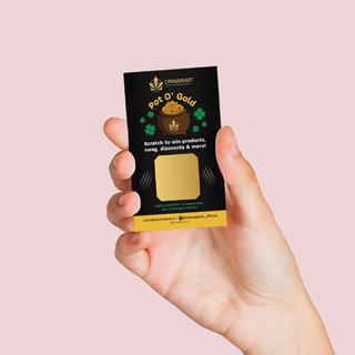 Cannabeast Pot of Gold Scratcher Campaign