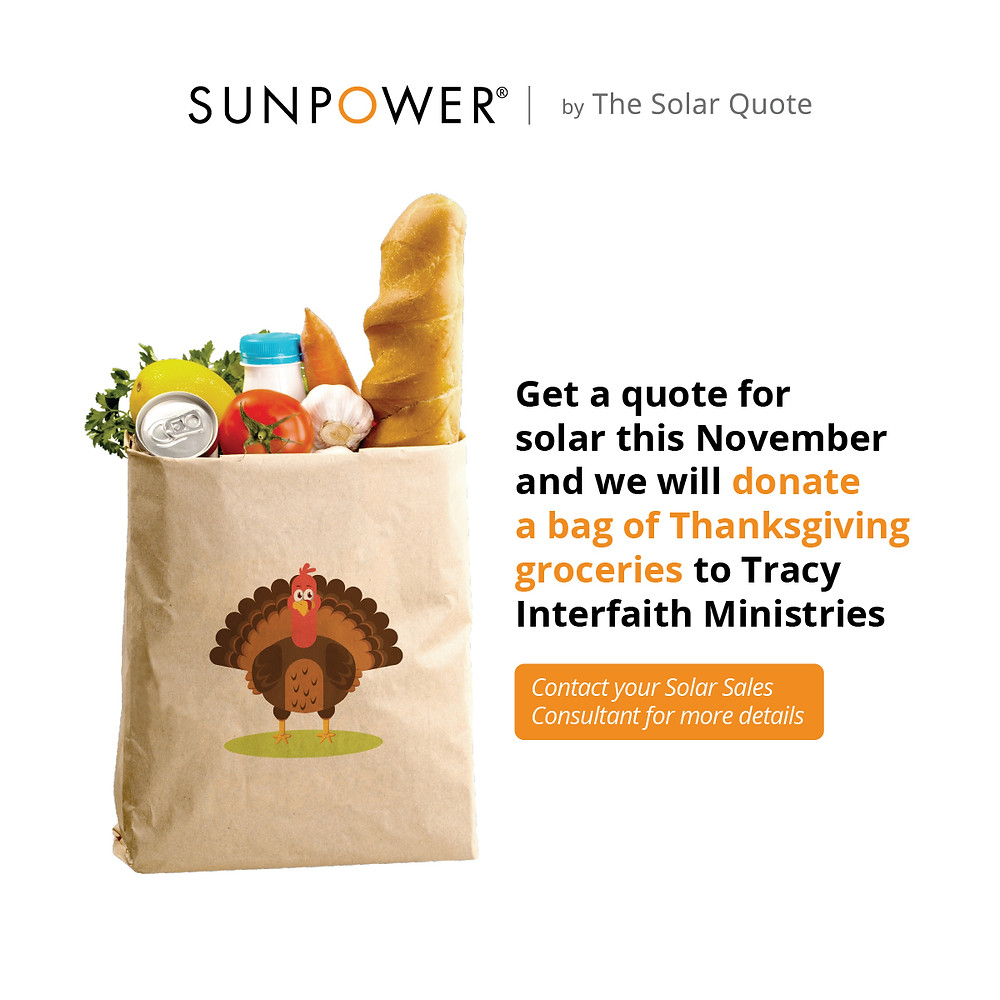 SunPower by The Solar Quote Thanksgiving