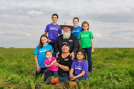 Burroughs Family Farms Family Photo