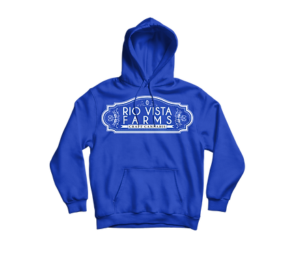 Sundae Driver Blue Pullover Hoodie