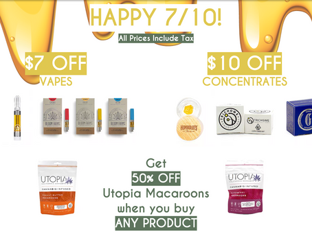Happy 7/10! Check out this week's deals
