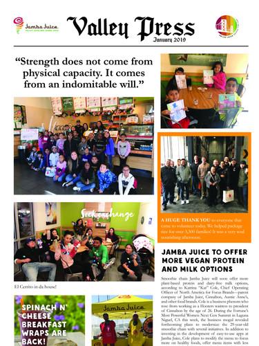 Valley Press January 2019