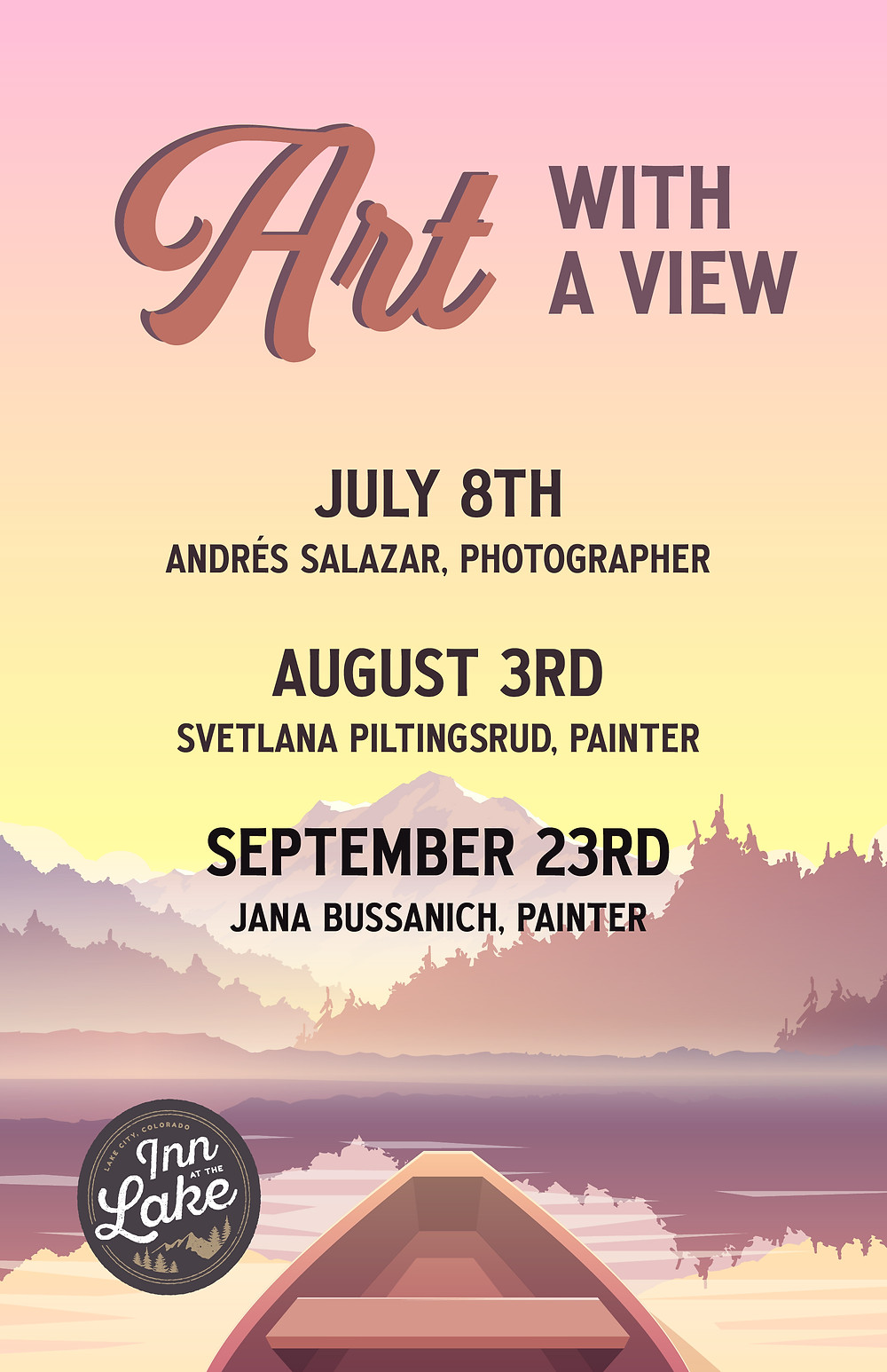 Art with a View Poster