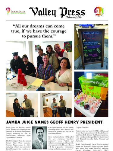 Valley Press February 2019