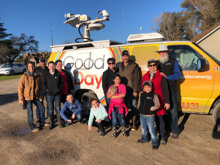 Burroughs Family Farms is Featured on Good Day Sacramento!