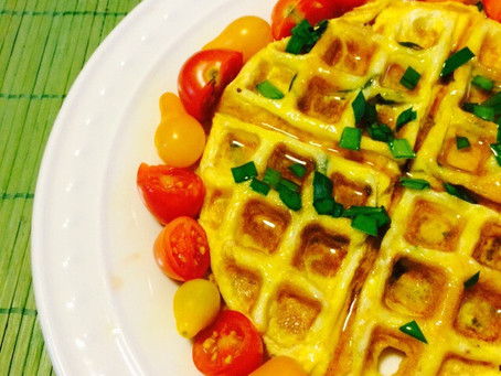 Waffled Egg Omelet