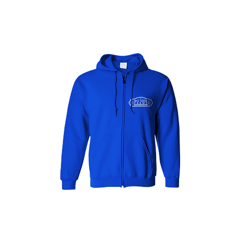 Peanut Butter Breath Blue Zip Up Hoodie