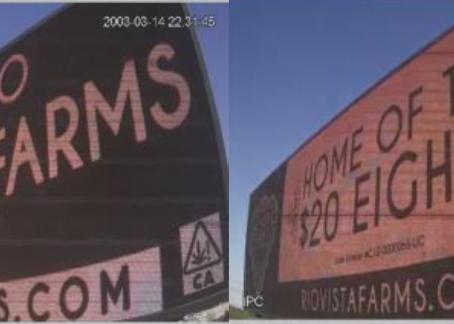 Billboards on HWY 99!