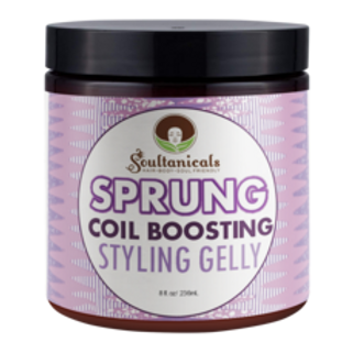 Soultanicals Sprung Coil Boosting Styling Gelly  8oz