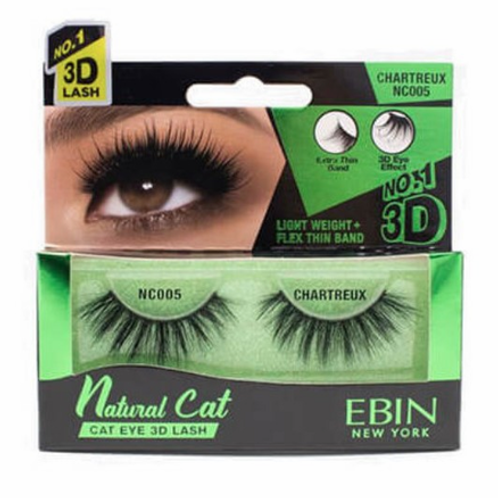 Ebin New York Natural Cat Eye 3D Lash Chartreux NC005