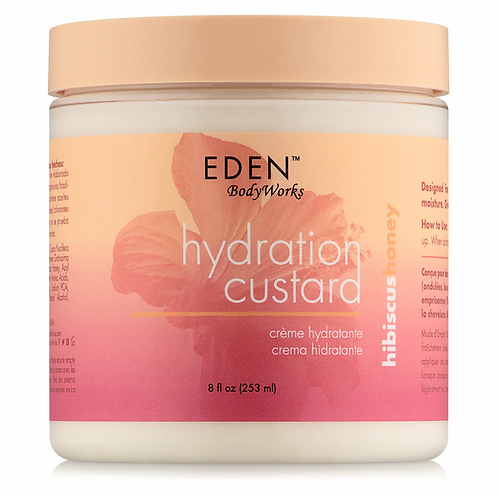 EDEN BodyWorks Hibiscus Honey Hydration Custard 16 oz