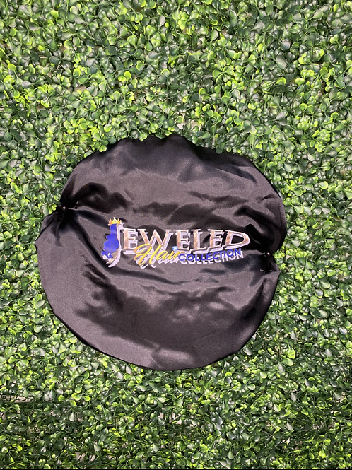 Jeweled Hair Lounge Collection Bonnet