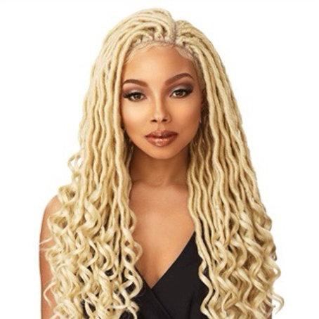 Sensationnel Cloud 9 4x4 Multi-Part Swiss Lace Front Wig Goddess Loc