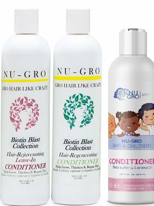 Nu-Gro Step 2: Hair-GRO Conditioners