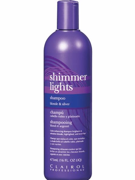 Clairol Shimmer Lights Shampoo Blonde & Silver 16 oz