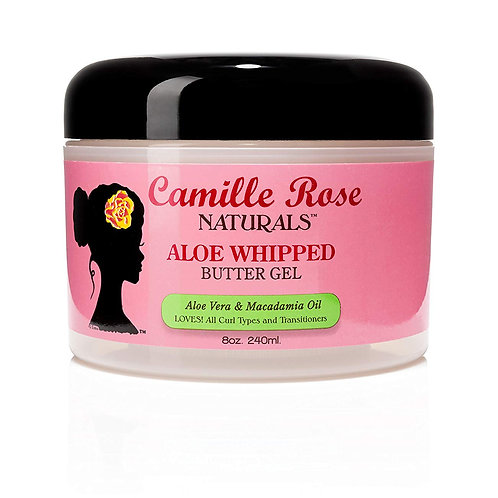 Camille Rose Naturals Aloe Whipped Butter Gel (8 oz)
