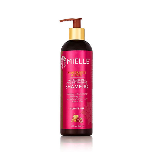 Mielle Pomegranate & Honey Moisturizing and Detangling Shampoo 12 oz