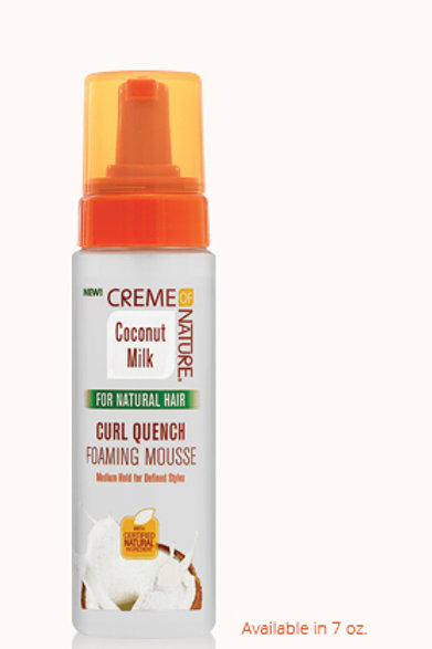 Creme of Nature Curl Quench  Coconut Styling Mousse 8.45 oz