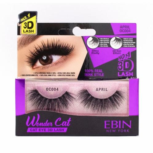 Ebin New York Wonder Cat Cat Eye 3D Lash April OC004
