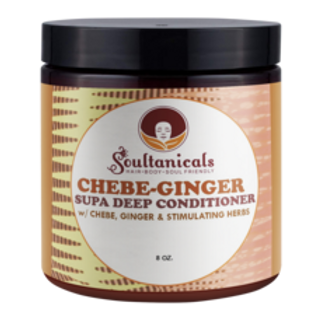 Soultanicals Chebe Ginger Supa Deep Conditioner 8oz