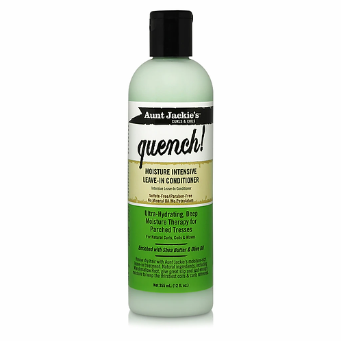 Aunt Jackie's Curls & Coils Quench Moisture Intensive Leave-In Conditioner 12 oz
