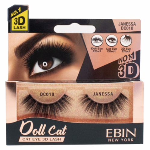 Ebin New York Doll Cat Eye 3D Lash Janessa DC010