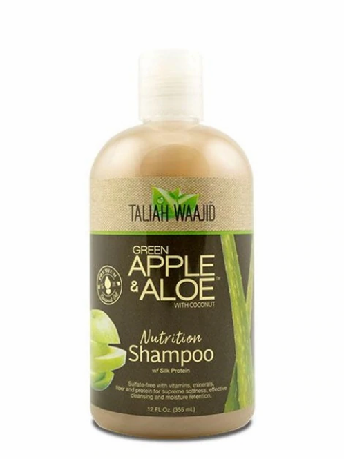 Taliah Waajid Green Apple & Aloe Nutrition Shampoo 12 oz