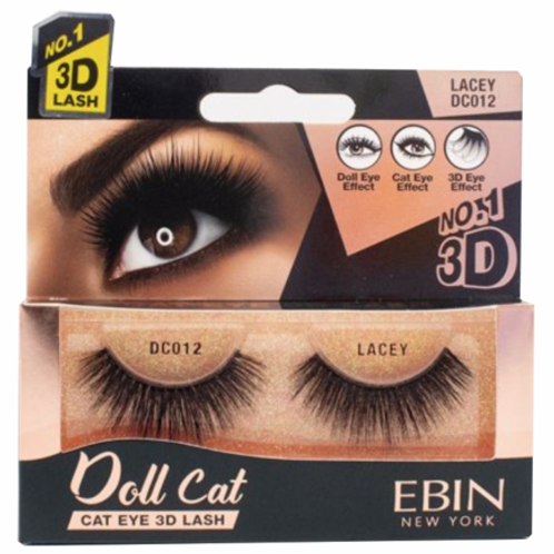Ebin New York Doll Cat Eye 3D Lash Lacey DC012