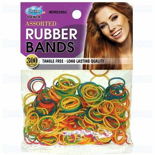 DREAM RUBBER BANDS 300CT ASSORTED