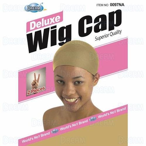 Dream World Deluxe Wig Cap 2 pcs Natural