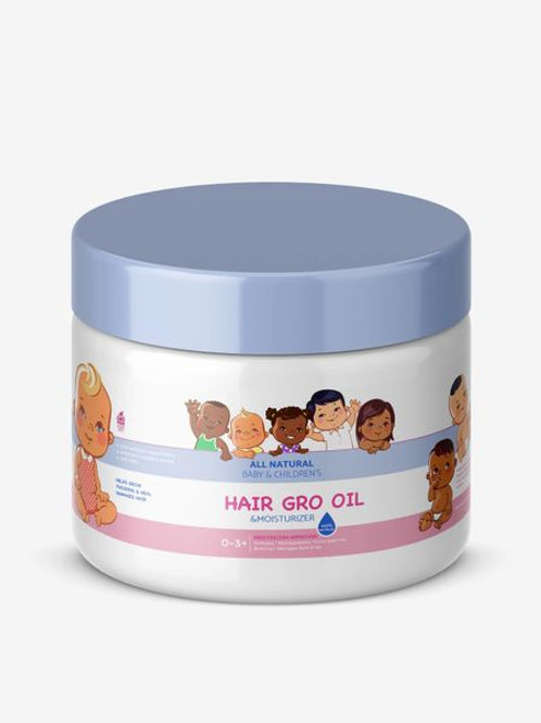 NU-GRO Baby & Kids All-Natural Hair-GRO Oil 4 oz.