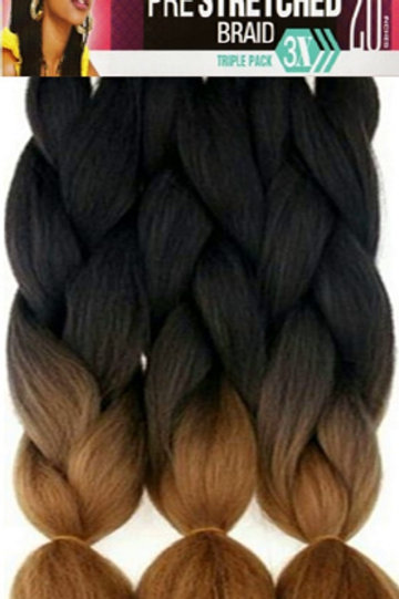 "Spetra Pre-Stretched 3 Bundle Braid 20"" (Folded)"