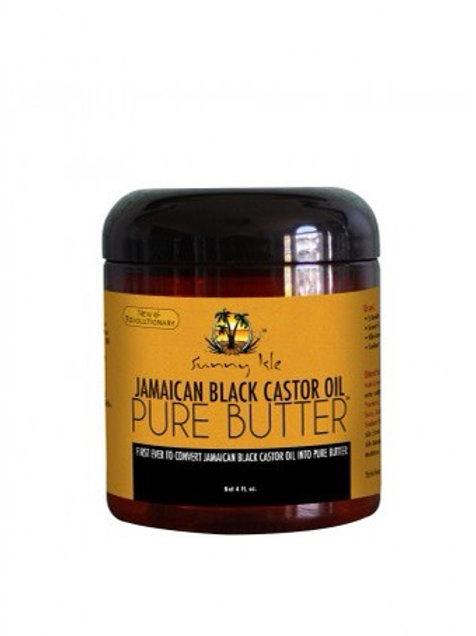 SUNNY ISLE JAMAICAN BLACK CASTOR OIL PURE BUTTER (8oz)