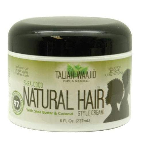 Talijah Wahid Shea-Coco Hair Styling Cream 8 0z