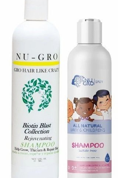 Nu-Gro Step 1. Hair-GRO Shampoo