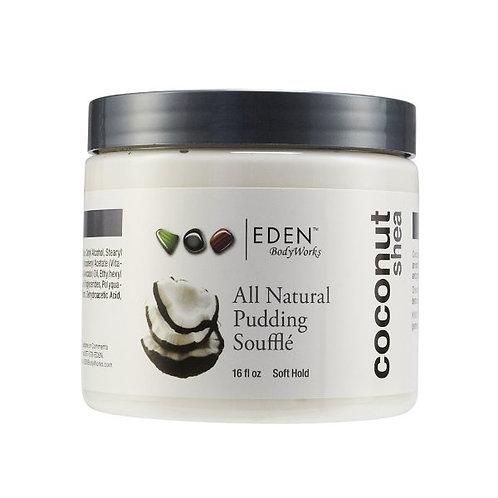 EDEN Bodyworks Coconut Shea All Natural Pudding Souffle  16 oz