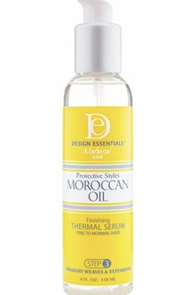 Design Essentials Moroccan Oil Thermal Serum 4 oz