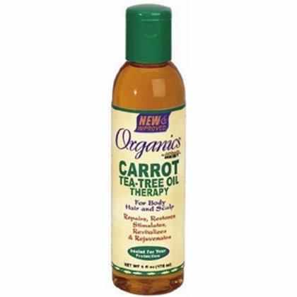 Africa's Best Originals Carrot Tea-Tree Oil Therapy 6 0z