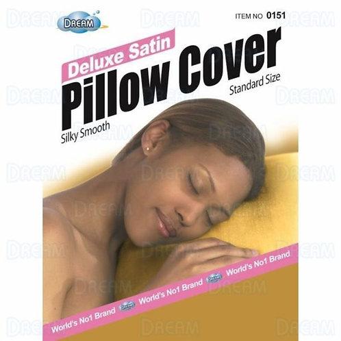 DREAM WOMENS SATIN PILLOW COVER