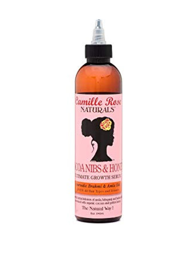Camille Rose Naturals Cocoa Nibs & Honey Ultimate Growth Serum (8 oz)