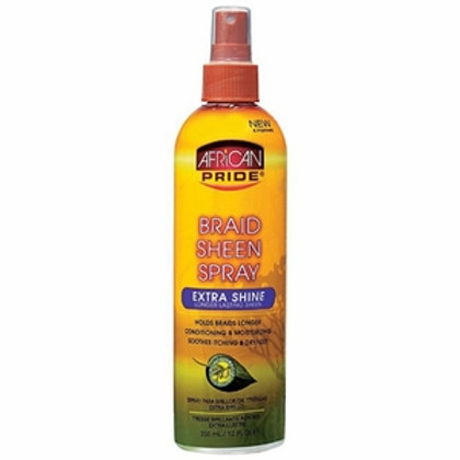 African Pride Extra Shine Braid Sheen 12 oz