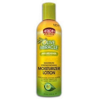 African Pride Olive Miracle Moisture Lotion 12 oz