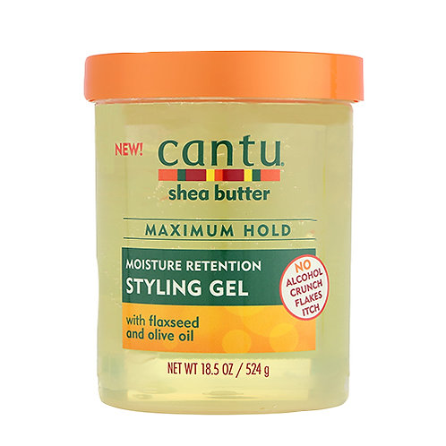 Cantu Shea Butter Maximum Hold Moisture Retention Styling Gel 18.5 oz