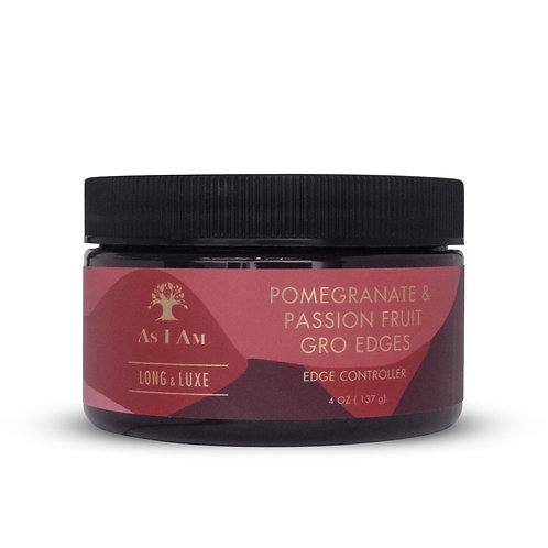 Long & Luxe  Gro Edges with Pomegranate & Passion Fruit 4 oz